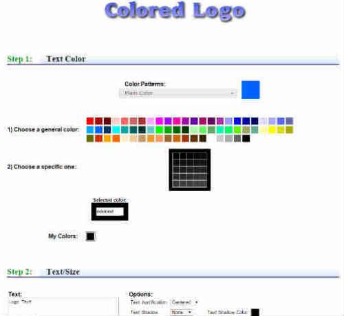 текстовый генератор лого для блога