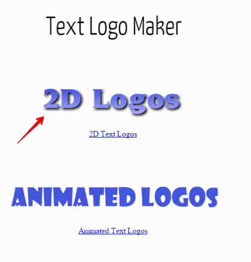 создание текстового логотипа для блога