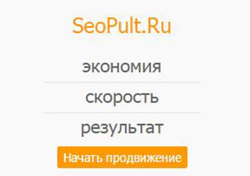 система раскрутки  сайтов SeoPult