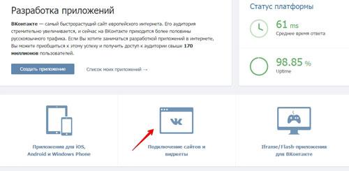 раскрутка сайта вконтакте
