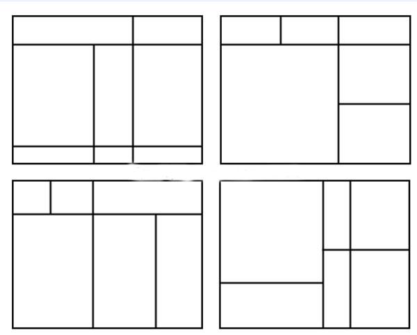 варианты модульной сетки